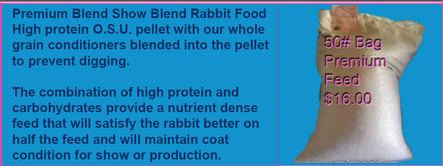 Premium Show Blend Rabbit Feed