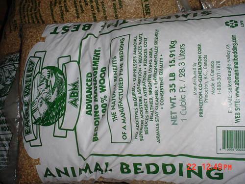 Absorbent Animal Bedding